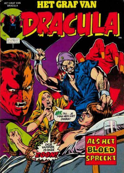 Cover for Het graf van Dracula (Classics/Williams, 1975 series) #6