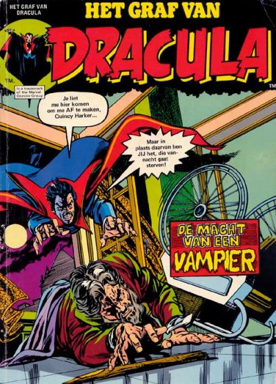 Cover for Het graf van Dracula (Classics/Williams, 1975 series) #7