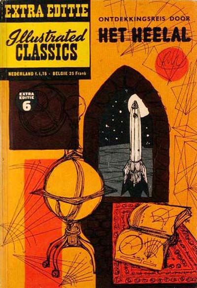 Cover for Illustrated Classics Extra Editie (Classics/Williams, 1959 series) #6 - Het heelal