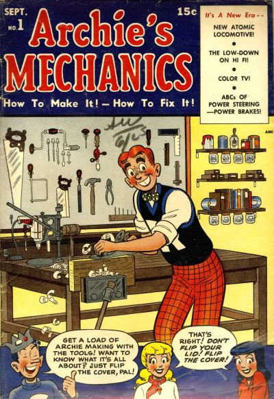 Cover for Archie's Mechanics (Archie, 1954 series) #1