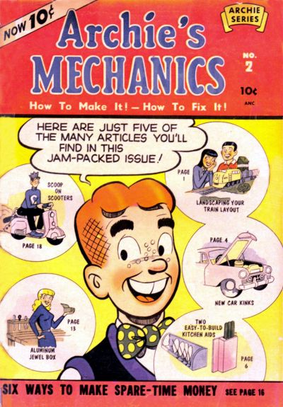 Cover for Archie's Mechanics (Archie, 1954 series) #2