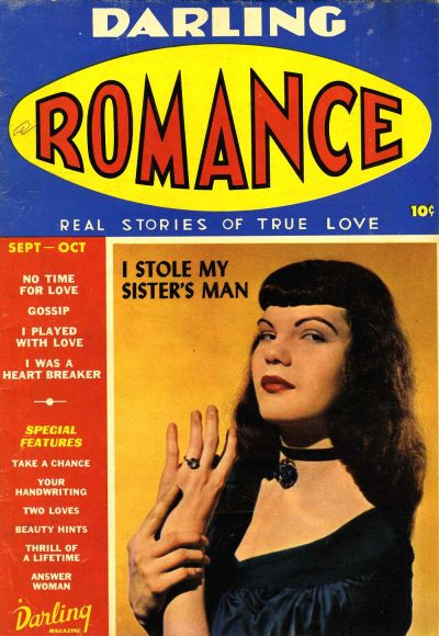 Cover for Darling Romance (Archie, 1949 series) #1