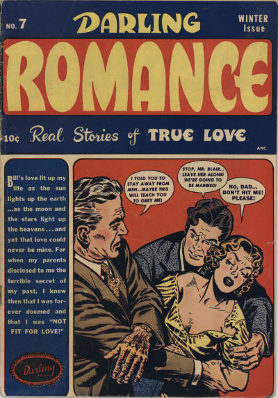 Cover for Darling Romance (Archie, 1949 series) #7