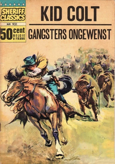 Cover for Sheriff Classics (Classics/Williams, 1964 series) #931