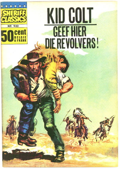 Cover for Sheriff Classics (Classics/Williams, 1964 series) #932