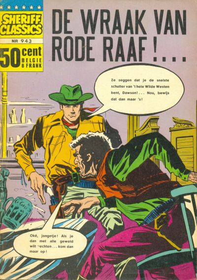 Cover for Sheriff Classics (Classics/Williams, 1964 series) #943