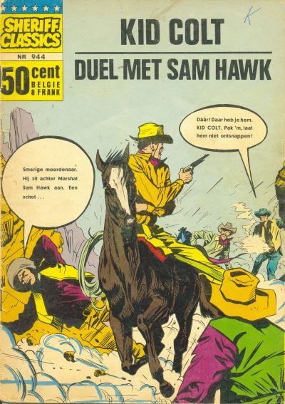 Cover for Sheriff Classics (Classics/Williams, 1964 series) #944