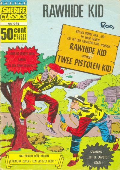 Cover for Sheriff Classics (Classics/Williams, 1964 series) #996