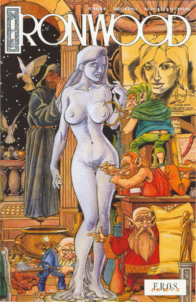 Cover for Ironwood (Fantagraphics, 1991 series) #6