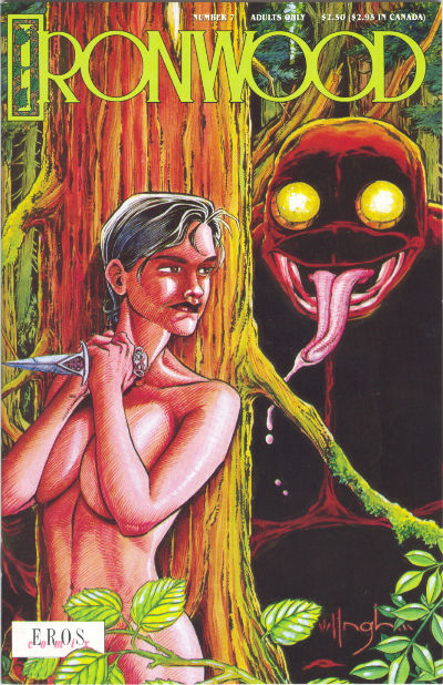 Cover for Ironwood (Fantagraphics, 1991 series) #7