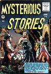 Cover for Mysterious Stories (Premier Magazines, 1954 series) #4