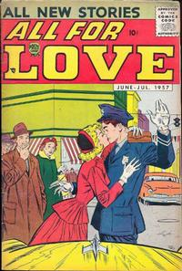 Cover Thumbnail for All for Love (Prize, 1957 series) #v1#2 [2]