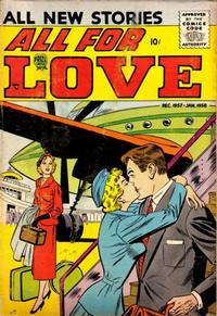 Cover Thumbnail for All for Love (Prize, 1957 series) #v1#5 [5]