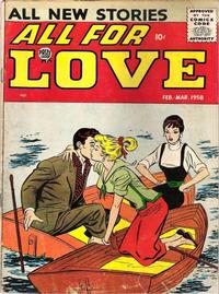 Cover Thumbnail for All for Love (Prize, 1957 series) #v1#6 [6]