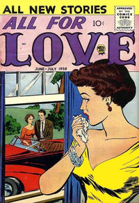 Cover Thumbnail for All for Love (Prize, 1957 series) #v2#2 [8]
