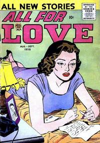 Cover Thumbnail for All for Love (Prize, 1957 series) #v2#3 [9]
