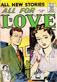 Cover Thumbnail for All for Love (Prize, 1957 series) #v2#4 [10]