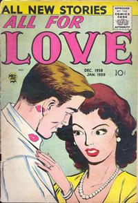 Cover Thumbnail for All for Love (Prize, 1957 series) #v2#6 [11]