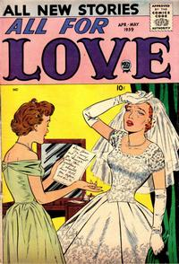 Cover Thumbnail for All for Love (Prize, 1957 series) #v3#1 [13]
