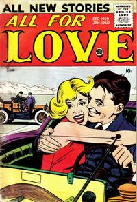 Cover Thumbnail for All for Love (Prize, 1957 series) #v3#4 [17]