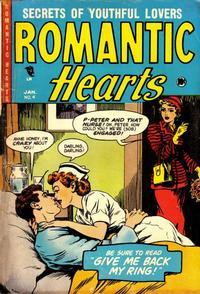 Cover Thumbnail for Romantic Hearts (Master Comics, 1953 series) #4