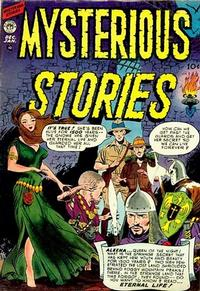Cover Thumbnail for Mysterious Stories (Premier Magazines, 1954 series) #2