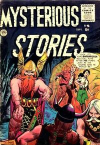 Cover Thumbnail for Mysterious Stories (Premier Magazines, 1954 series) #5
