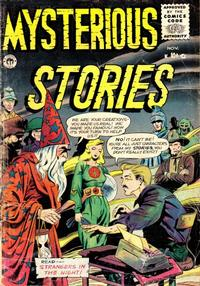 Cover Thumbnail for Mysterious Stories (Premier Magazines, 1954 series) #6