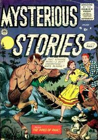 Cover Thumbnail for Mysterious Stories (Premier Magazines, 1954 series) #7