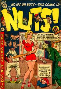 Cover Thumbnail for Nuts! (Premier Magazines, 1954 series) #3