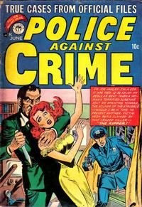 Cover Thumbnail for Police Against Crime (Premier Magazines, 1954 series) #2