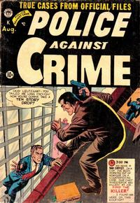 Cover Thumbnail for Police Against Crime (Premier Magazines, 1954 series) #3