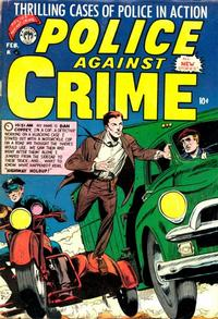 Cover Thumbnail for Police Against Crime (Premier Magazines, 1954 series) #6