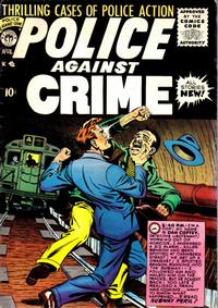Cover Thumbnail for Police Against Crime (Premier Magazines, 1954 series) #7