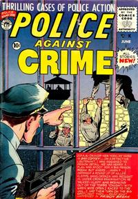 Cover Thumbnail for Police Against Crime (Premier Magazines, 1954 series) #8