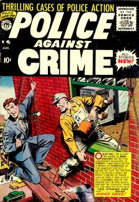 Cover Thumbnail for Police Against Crime (Premier Magazines, 1954 series) #9