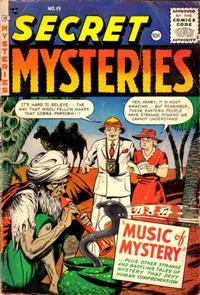 Cover Thumbnail for Secret Mysteries (Merit, 1954 series) #19