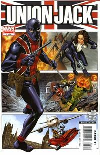 Cover Thumbnail for Union Jack (Marvel, 2006 series) #2