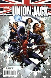Cover Thumbnail for Union Jack (Marvel, 2006 series) #3