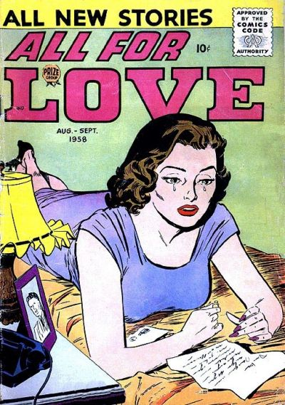 Cover for All for Love (Prize, 1957 series) #v2#3 [9]