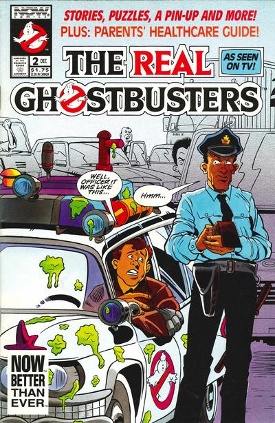 Cover for The Real Ghostbusters (Now, 1991 series) #2