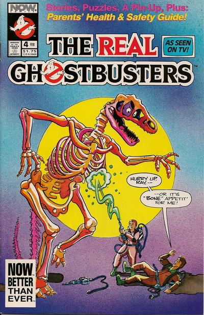 Cover for The Real Ghostbusters (Now, 1991 series) #4