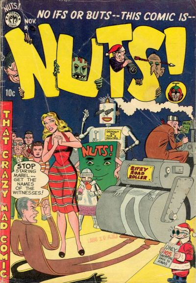 Cover for Nuts! (Premier Magazines, 1954 series) #5