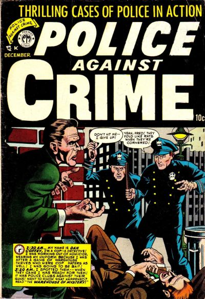 Cover for Police Against Crime (Premier Magazines, 1954 series) #5