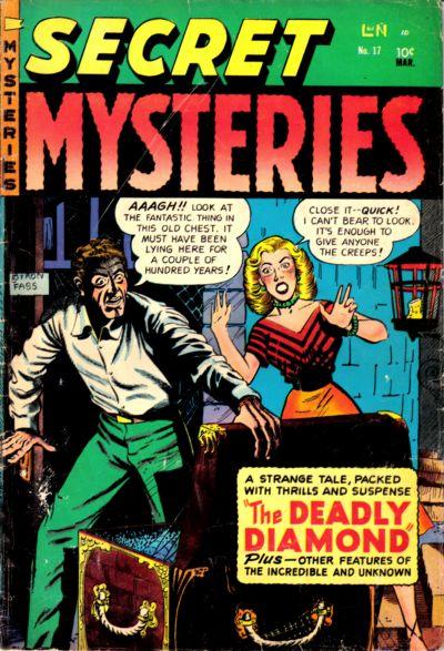 Cover for Secret Mysteries (Merit, 1954 series) #17