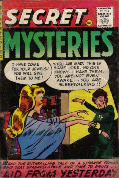 Cover for Secret Mysteries (Merit, 1954 series) #18