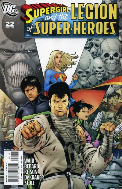Cover for Supergirl and the Legion of Super-Heroes (DC, 2006 series) #22