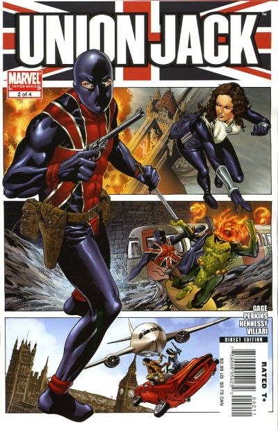 Cover for Union Jack (Marvel, 2006 series) #2