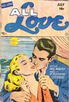 Cover for All Love (Ace Magazines, 1949 series) #27