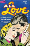 Cover for All Love (Ace Magazines, 1949 series) #30